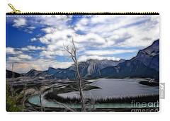 Lac Des Arcs Fractal Carry-all Pouch