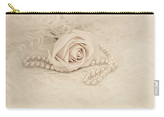 Lace And Promises Carry-all Pouch