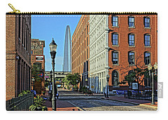Laclede's Landing Just North Of The Arch Carry-all Pouch