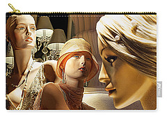Ladies Of Rodeo Drive Carry-all Pouch by Chuck Staley