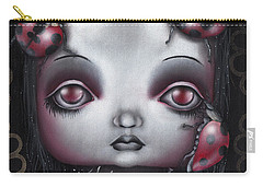 Lady Bug Girl Carry-all Pouch