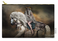Lady Godiva Carry-all Pouch by Shanina Conway