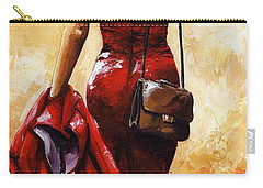 Lady In Red #25 Carry-all Pouch