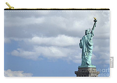 Lady Liberty   1 Carry-all Pouch by Allen Beatty