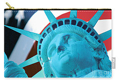 Carry-all Pouch featuring the photograph Lady Liberty  by Jerry Fornarotto