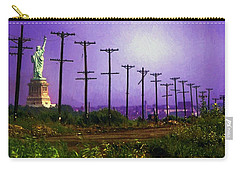 Lady Liberty Lost Carry-all Pouch