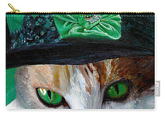 Lady Little Girl Cats In Hats Carry-all Pouch
