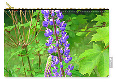 Lady Lupine Carry-all Pouch by Elizabeth Dow