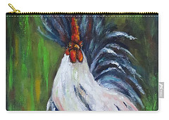Lady Pleaser, Rooster  Carry-all Pouch