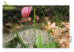 Lady Slippers At Moore State Park 3 Carry-all Pouch