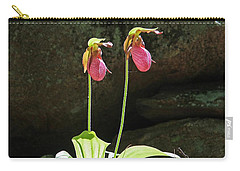 Lady Slippers At Moore State Park 5 Carry-all Pouch