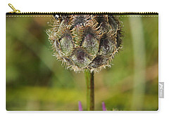 Carry-all Pouch featuring the digital art Ladybird by Ron Harpham