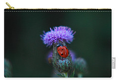 Ladybug Carry-all Pouch by Jeff Swan
