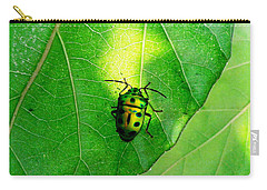 Ladybug Carry-all Pouch by Ramabhadran Thirupattur