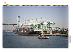 Lafd Fire Boat 2 San Pedro Ca 03 Carry-all Pouch