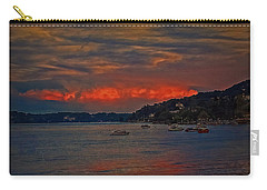 Carry-all Pouch featuring the photograph Lago Maggiore by Hanny Heim