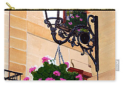 Laguardia Street Lamp  Carry-all Pouch by Mike Robles