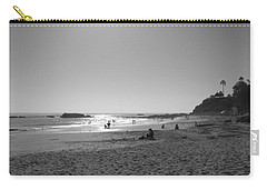 Laguna Sunset Reflection Carry-all Pouch by Connie Fox
