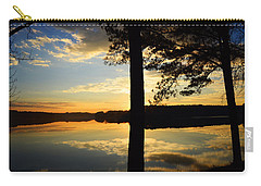 Lake At Sunrise Carry-all Pouch