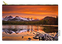 Lake Bierstadt In The Morn Carry-all Pouch by Steven Reed