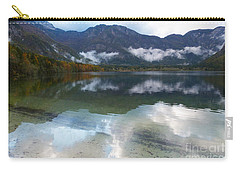 Lake Bohinj - Reflections Carry-all Pouch by Phil Banks