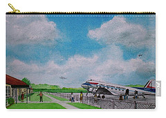 Lake Central Deplaning At Portsmouth Ohio Carry-all Pouch by Frank Hunter
