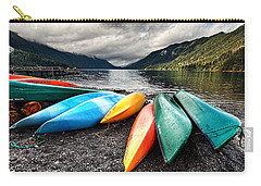 Lake Crescent Kayaks Carry-all Pouch by Ian Good