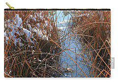 Carry-all Pouch featuring the photograph Lake Glitter by Diane Alexander