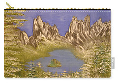 Lake In Glacier Carry-all Pouch
