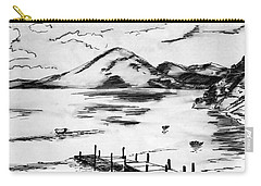 Lake In Guatemala Carry-all Pouch