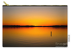 Lake Independence Sunset Carry-all Pouch