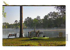 Carry-all Pouch featuring the photograph Lake Life by Lisa Wooten