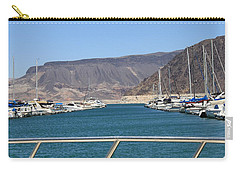 Carry-all Pouch featuring the photograph Lake Mead From The Marina by Amy Gallagher