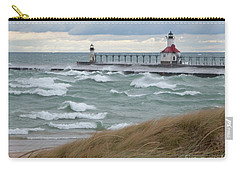 Lake Michigan Winds Carry-all Pouch