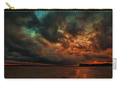 Lake Murray Fire Sky Carry-all Pouch