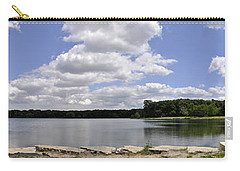 Carry-all Pouch featuring the photograph Lake Of Dreams by Verana Stark