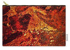 Lake Of Lava Carry-all Pouch by Leanna Lomanski