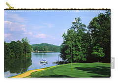 Lake On A Golf Course, Legend Course Carry-all Pouch by Panoramic Images
