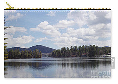 Carry-all Pouch featuring the photograph Lake Placid by John Telfer