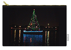 West End Boat Parade - Lights On The Lake, Lake Pontchartrain, New Orleans La Carry-all Pouch