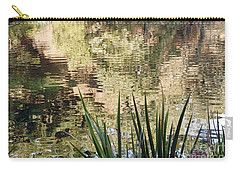 Carry-all Pouch featuring the photograph Lake Reflections by Kate Brown