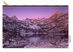 Carry-all Pouch featuring the photograph Lake Sabrina Sunrise Eastern Sierras California by Dave Welling