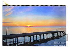 Lake Sunrise - Watercolor Carry-all Pouch