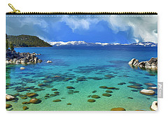 Lake Tahoe Cove Carry-all Pouch by Dominic Piperata