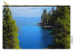 Lake Tahoe From The Rubicon Trail Carry-all Pouch