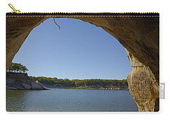 Lake Texoma Eisenhower State Park  Texas Carry-all Pouch by Charles Beeler