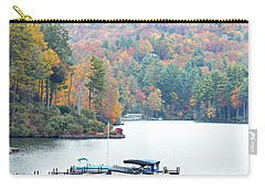 Lake Toxaway In The Fall Carry-all Pouch