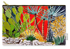 Lake Travis Cactus Garden Carry-all Pouch