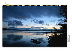 Lake Umbagog Sunset Blues No. 2 Carry-all Pouch