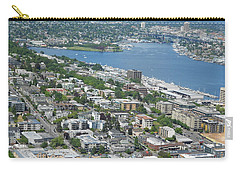 Lake Union Panorama Carry-all Pouch by David Trotter